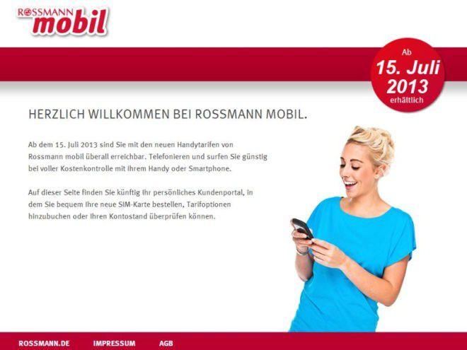 Rossmann Mobil Login