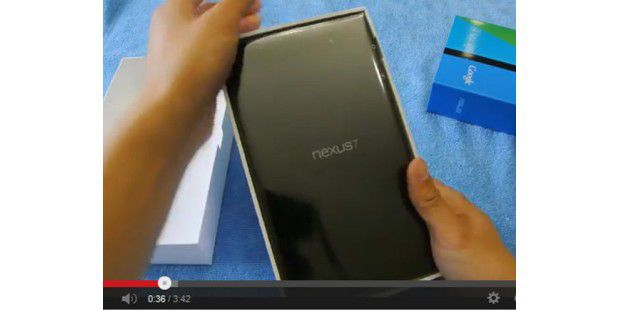 Neues Nexus 7 im Video