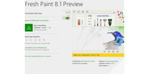 Fresh Paint von Microsoft in neuer Version