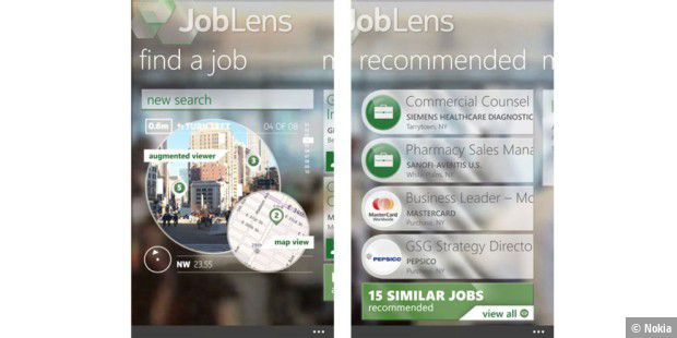 Job-Suche per Virtual-Reality-App