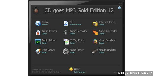 CD goes MP3 Gold Edition 12