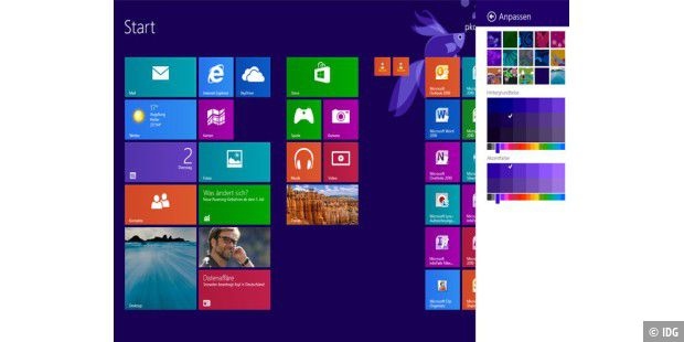 Windows 8.1 in Aktion