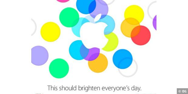 Apple-Einladung zum iPhone-Event am 10. September 2013