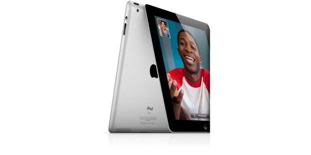 Das iPad besitzt eine Front- und eineRückkamera.