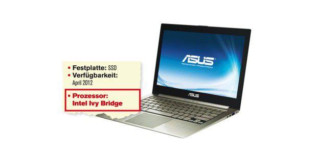 Ultrabook mit Ivy Bridge: Asus Zenbook