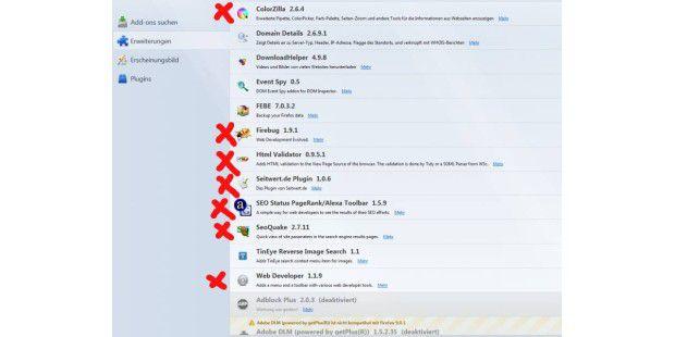 Für Firefox gibt es eine Reihe von Webmastertools in Form von Addons