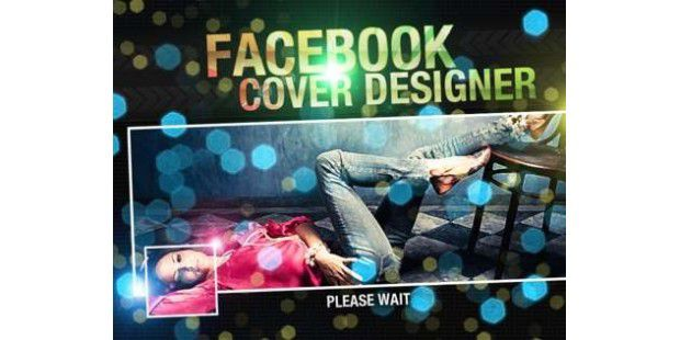 iPhone-App: Facebook Cover Designer<BR>
