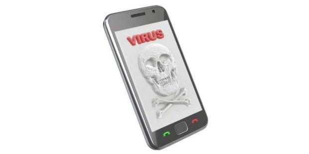 Auch Smartphones sind häufig das Ziel von Viren. Besonders Android-Besitzter sollten sich vor Schädlingen in Acht nehmen.