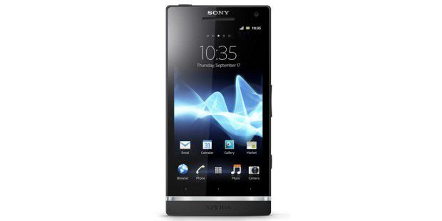 Sony Xperia S mit vollem HD-Erlebnis.