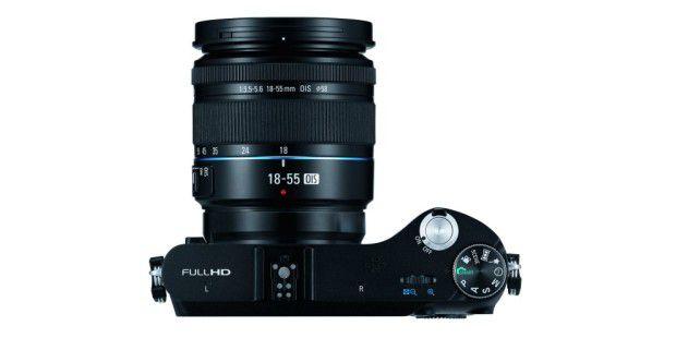 Die Samsung NX200 macht Full-HD-Videos mit 60p