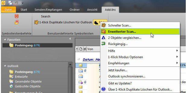 """Enge Integration und """"Ein-Klick-Bedienung"""": die Software""""1-Klick Duplikate Löschen"""""""