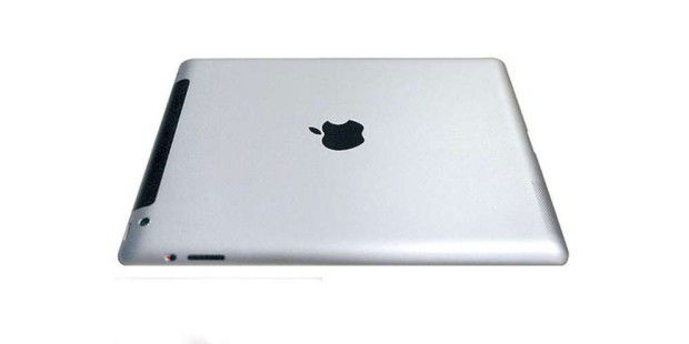 Die Rückseite des iPad 3 (inoffizielles Bild).