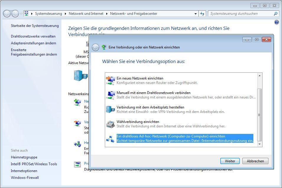 Neues Netzwerk Einrichten : ad hoc netzwerke und tethering mit windows 7 pc welt ~ Watch28wear.com Haus und Dekorationen