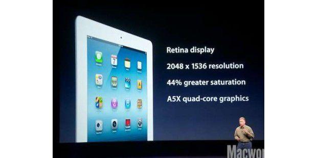 Das neue iPad (Bild: Macworld)