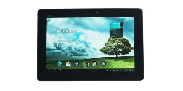 Das Transformer Prime TF 201 ist eins der ersten Quad-Core-Tablets (Nvidia Tegra 3).