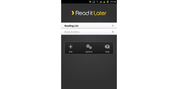 Auch mit einem Smartphone Internetseiten offlinelesen.