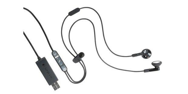 Diese Kopfhörer von Logitech sind speziell fürUnternehmenszwecke entwickelt worden.