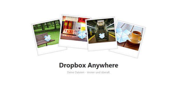 Der Webdienst Dropbox speichert Fotos und andere Dateienauf Cloud-Servern. Das erlaubt den Zugriff vom PC und Handy auf dieDaten.