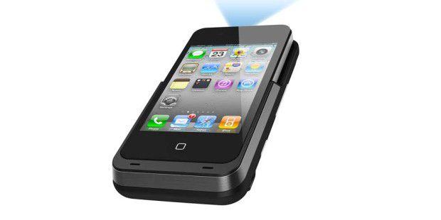 Mobile Cinema i50 von Aiptek: DLP-Projektor fürs iPhone mit 40 ANSI-Lumen
