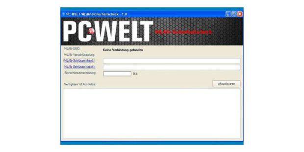 Exklusives PC-WELT WLAN-Sicherheitstool