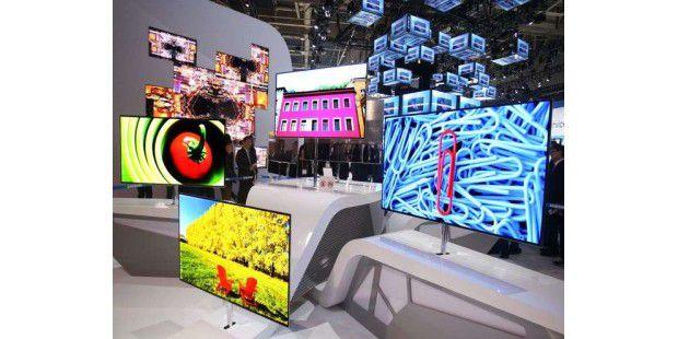 OLED ist im Kommen - auch bei Fernsehern in großen Größen