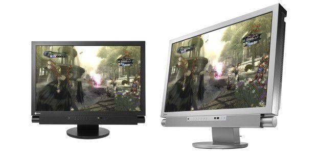 EIZO Foris-FX2431 für kristallklare Bilder undFull-HD-Inhalte von Spiele-Konsole oder Blu-ray-Player.