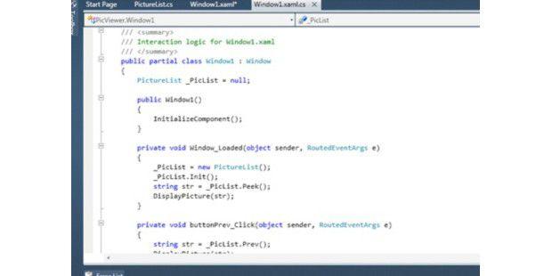 Bildquelle: PC World. Microsoft hat Visual Studio 2010 und.Net Framework 4 verbessert.