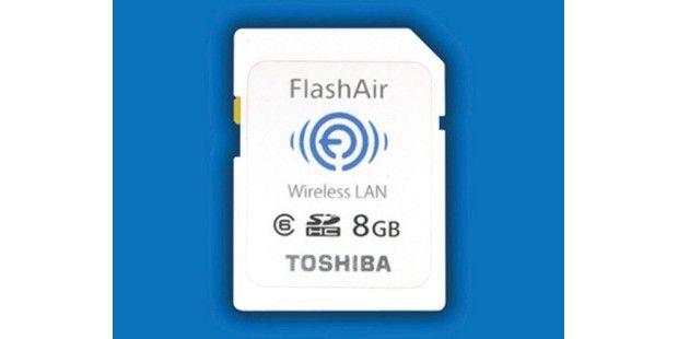 Toshiba Flash Air: Die Konkurrenz zu Eye-Fi kann auchDaten empfangen