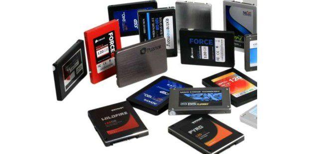 SSDs hängen klassische Magnetscheiben-Festplatten in Sachen Zugriffszeit locker ab.