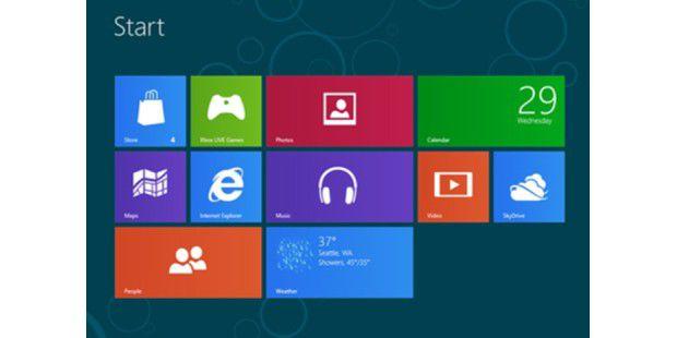 Durch die Metro-Oberfläche bringt Windows 8 großeVeränderungen mit sich.