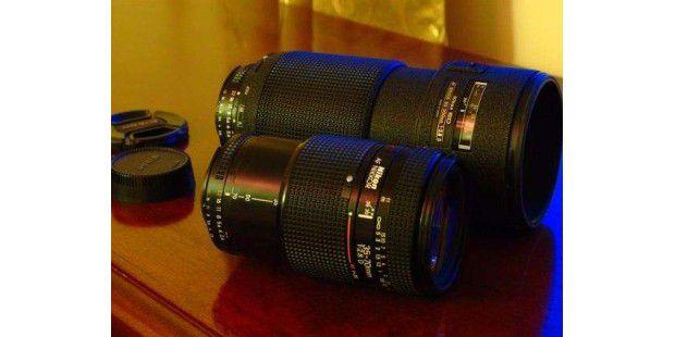 Schätze vom Gebrauchtmarkt: Zwei ausgesuchte, ältere Objektive von Nikon für moderne digitale Spiegelreflexkameras