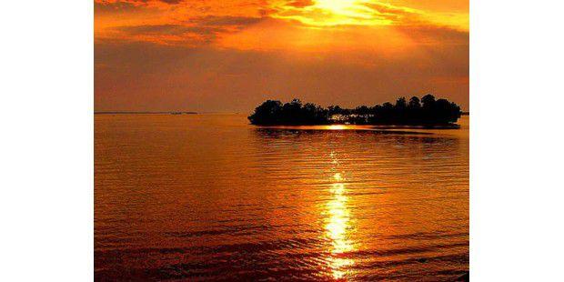 Abend an der Ostsee<BR>