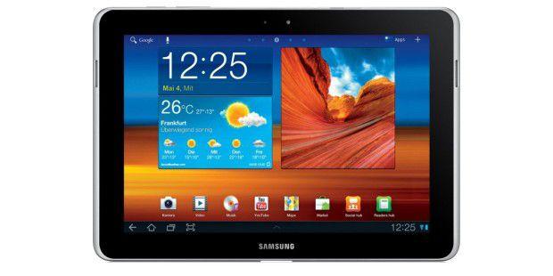 Das Tablet Galaxy Tab 10.1 durfte nach einerGerichtsentscheidung in Deutschland nicht verkauft werden – Samsungmodifizierte es zum Tab 10.1 N.