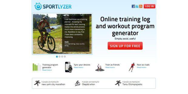 Geniale Webseite: Sportlyzer