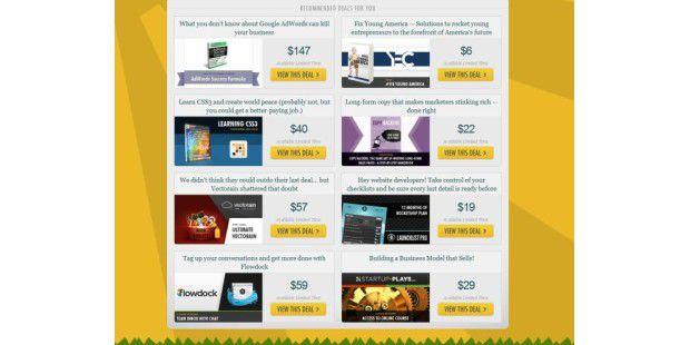 Geniale Webseite: AppSumo