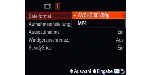 Hobbyfilmer sollten auf eine Full-HD-Aufnahme bei 50p,Bildstabilisator und Windgeräuschfilter achten.