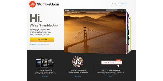 Facebook App StubleUpon
