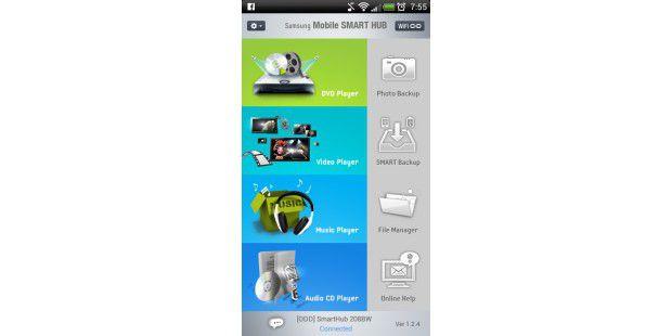 Übersichtlich und intuitive Android-App.