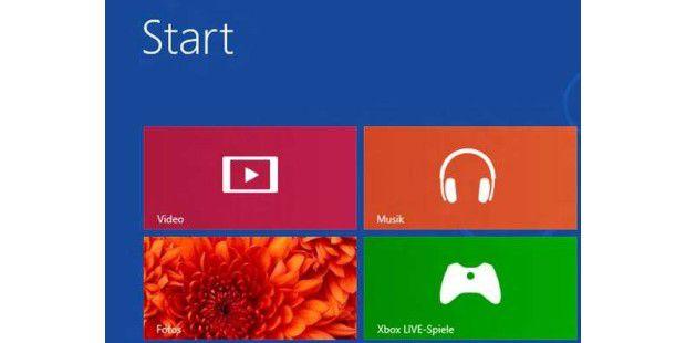 Allerlei neue Entertainment-Funktionen verspricht Windows 8, darunter ein Musikshop und eine Videothek.