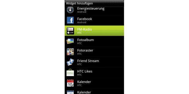 Auf den Startbildschirmen verknüpfen Sie Apps und Widgets,sodass Sie schnell darauf zugreifen können.