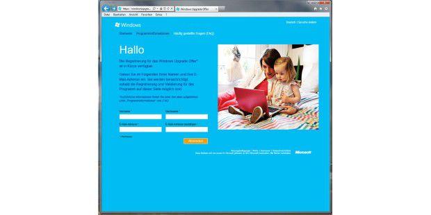 Upgrade-Angebot: Wer aktuell (ab dem 02. Juni 2012) einenPC mit Windows 7 erwirbt, kann diesen relativ günstig auf Windows 8bringen, wenn er auf das entsprechende Angebot von Microsofteingeht.