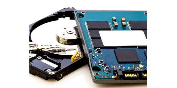 SSD, Festplatte & Co: Wospeichern Sie Ihre Daten am besten?
