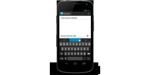 Android 4.1: Spracheingabe nun auch ohneInternetverbindung
