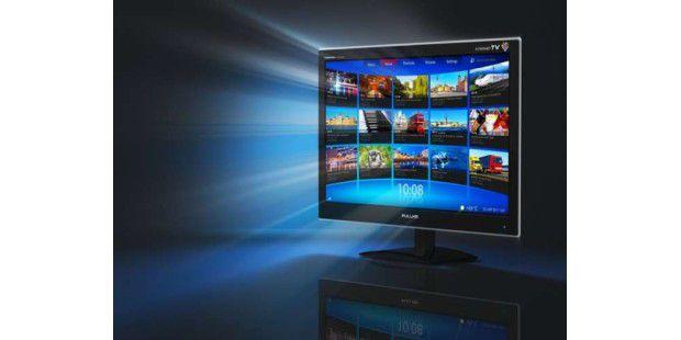 Online-Videothek und Mediaplayer, das ist schon alles: Die Volksbox Movie vom Mediamarkt ist kein Ersatz für echtes Smart-TV.