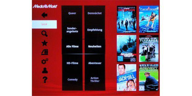 Mediathek-eigene Online-Videothek