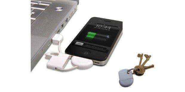Mit dem iPhone Schlüsselanhänger-Ladekabel sein Handyschnell laden