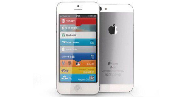 Dieses 3D-Modell zeigt, wie viele Gerüchte das iPhone 5 sehen. Mit 16:9-Bildschirm, veränderter Rückseite, aber ähnlicher Grundform.
