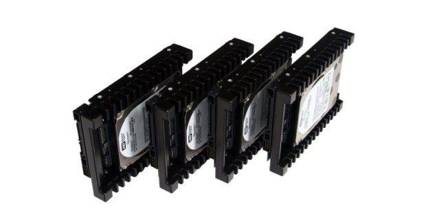 Plattenspeicher satt mit SSD-Tempo: die Raid-Technik macht's möglich