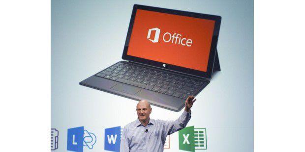 Microsoft CEO Steve Ballmer gibt erste Einblicke in dieCustomer Preview des neuen Microsoft Office