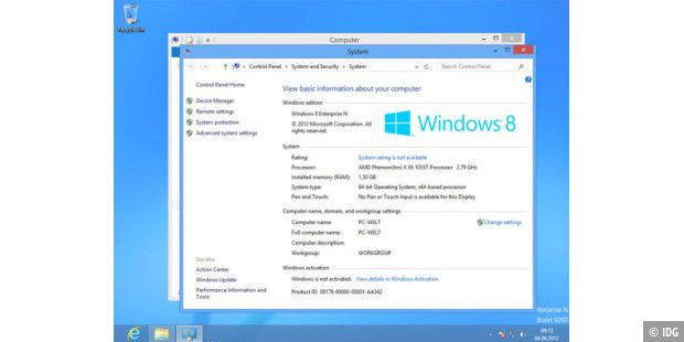 Windows 8 RTM ausprobiert plus Galerie